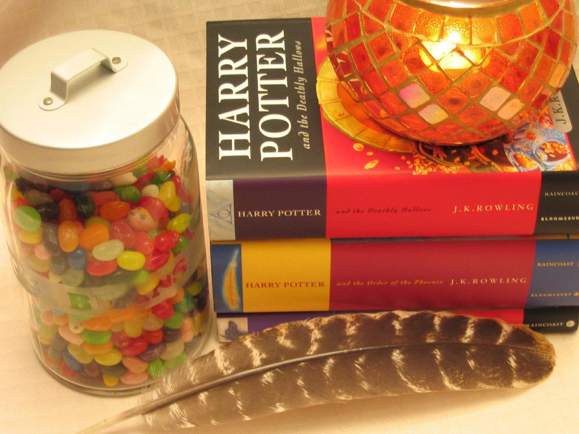 les livres de la saga Harry Potter