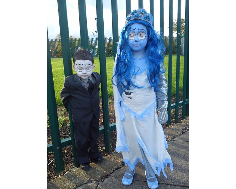 Les Noces Funèbres déguisements costume Halloween enfants