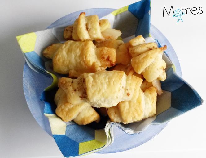Les minis croissants poire-cannelle