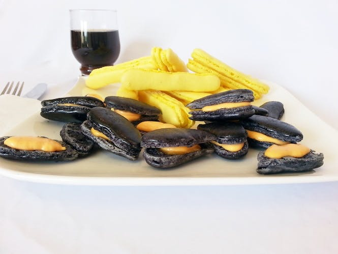Les moules frites belges en trompe l'oeil