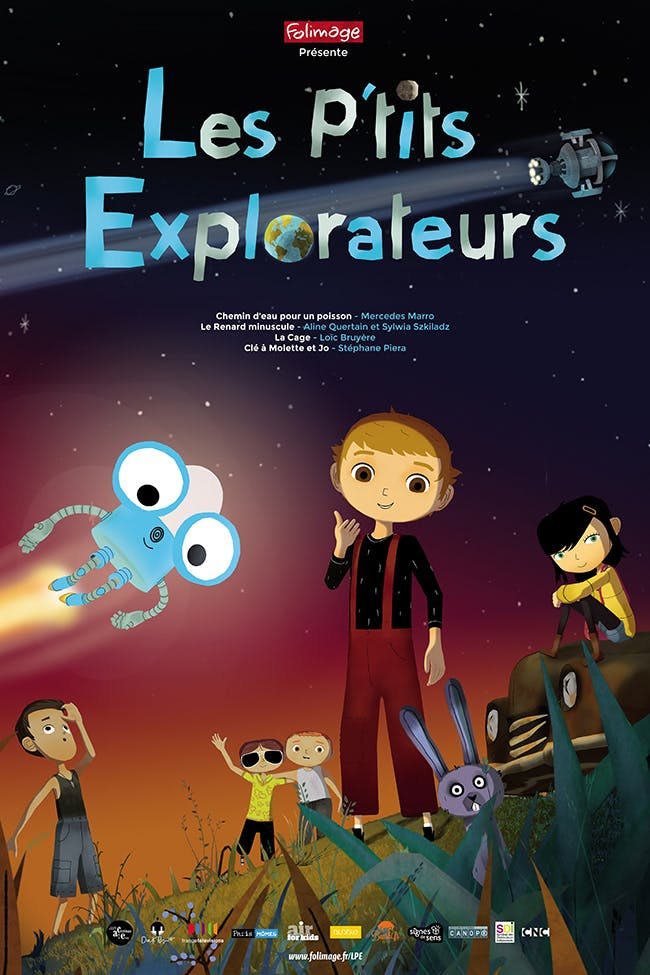 Les P'tits Explorateurs affiche