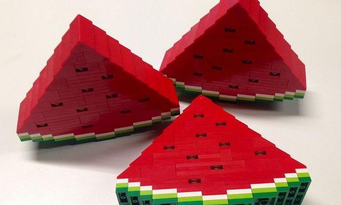 Les pastèques LEGO