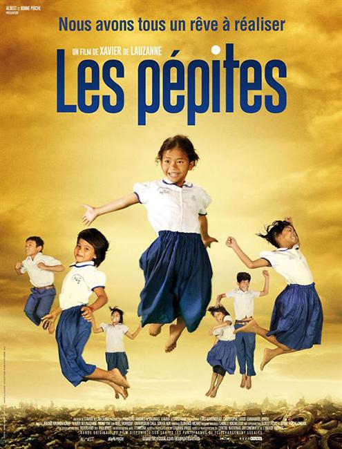 """Affiche du film """"Les pépites"""""""