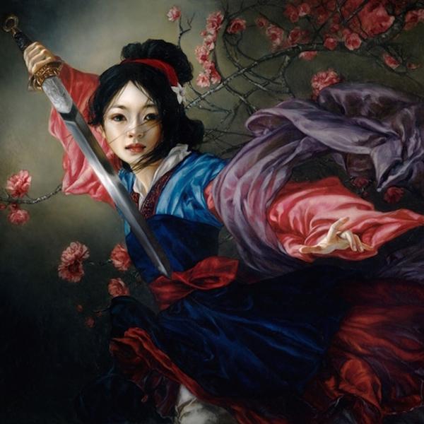 Les personnages Disney version peintures classiques à l'huile