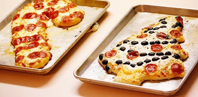 les pizzas de noel