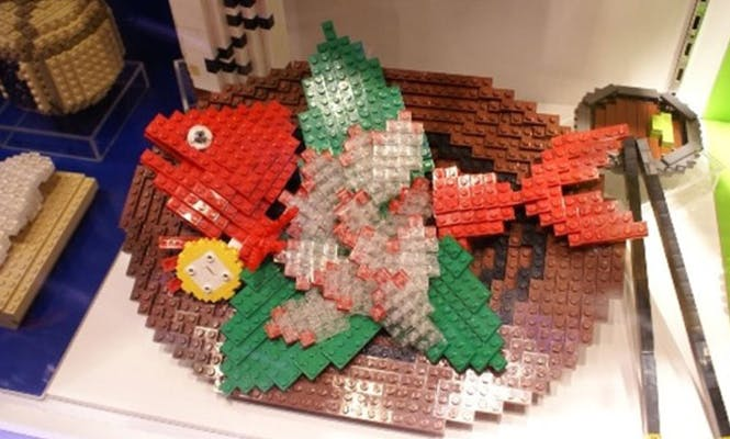 Les poissons LEGO
