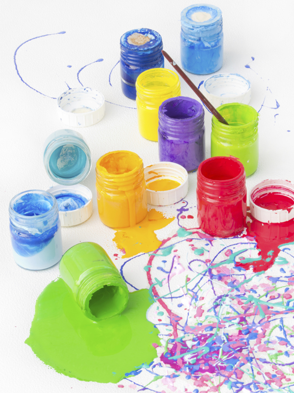 Comptine Les pots de couleur