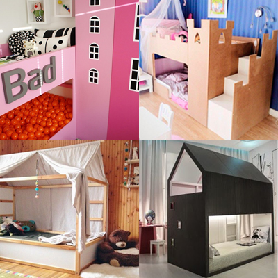 Les super transformations de lit pour enfant KURA d'Ikea