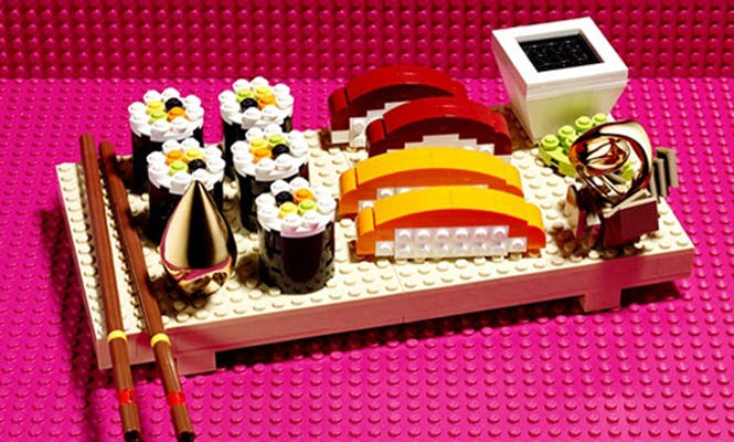 Les sushis LEGO