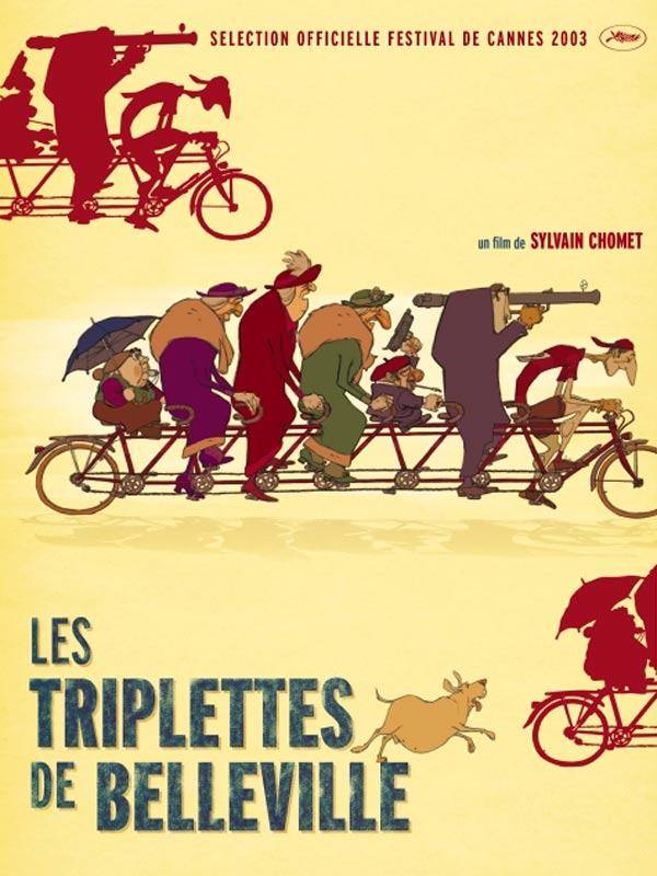 Affiche Les triplettes de Belleville