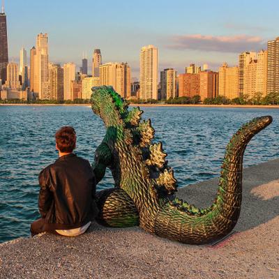 Les voyages de Kieran et Godzilla