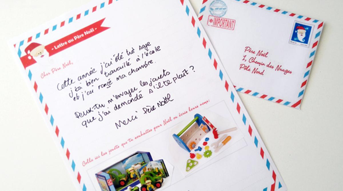 Lettre Au Père Au Noël à Imprimer Momes Net