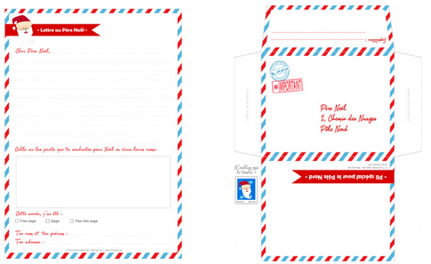 Envoyer Lettre Au Pere Noel Par La Poste.La Veritable Adresse Du Pere Noel Momes Net
