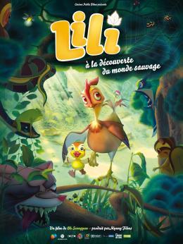 Affiche Lili à la découverte du monde sauvage
