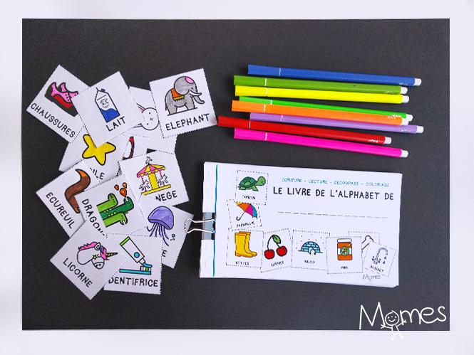 livre alphabet maternelle