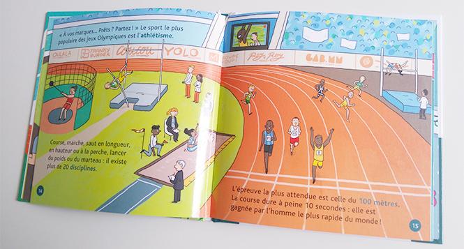 livre enfant jeux olympiques