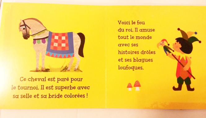 livre jouet chateau