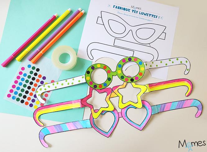 fabriquez des lunettes