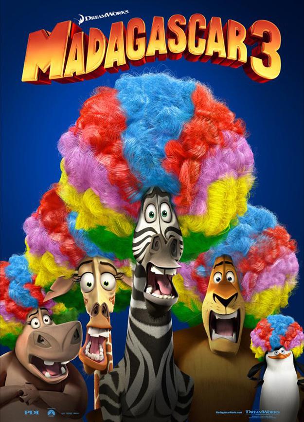 Affiche Madagascar 3