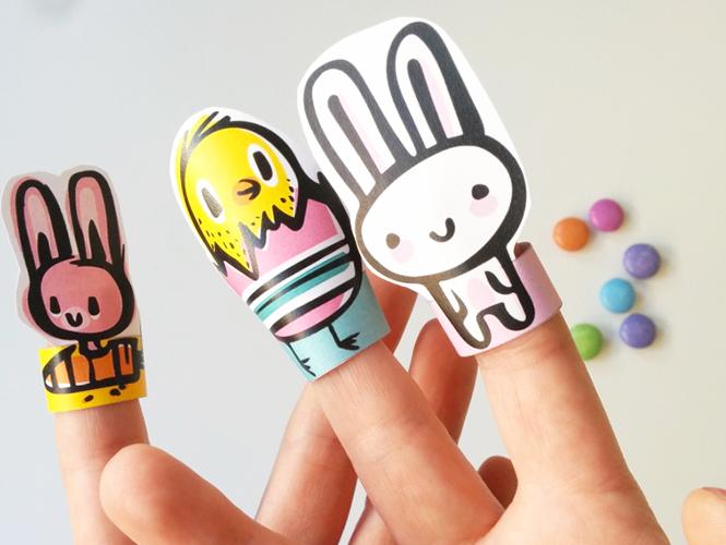 marionnettes lapins