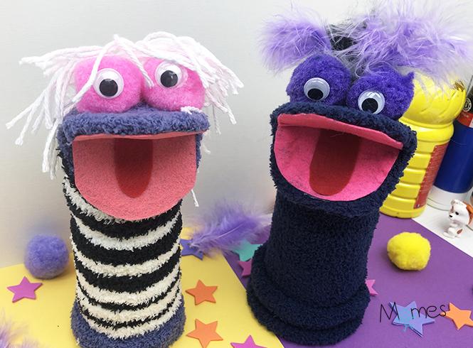 Marionnettes Chaussette Momes Net
