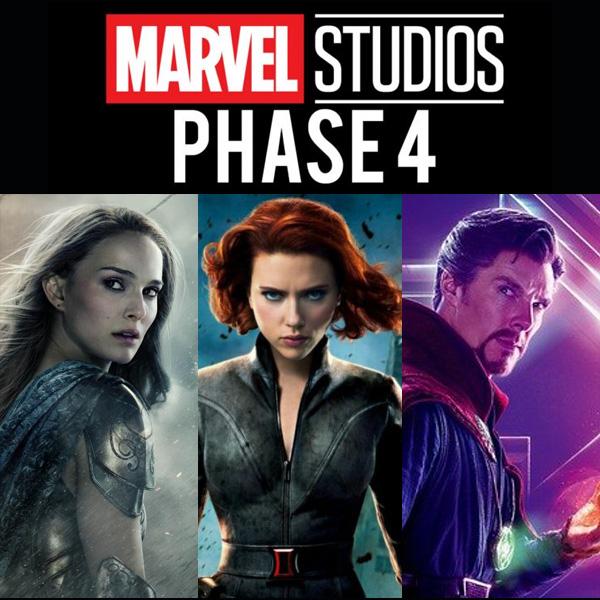 Marvel Phase 4 : les studios dévoilent les films et les séries qui vont sortir !