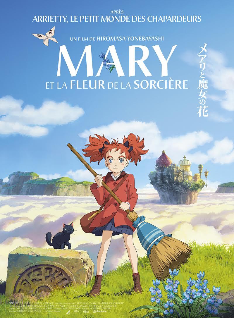 Mary et la fleur de la sorcière - affiche