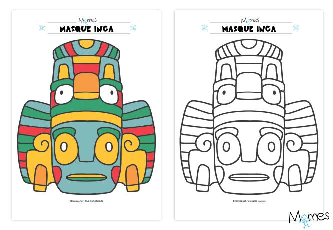 dessin inca