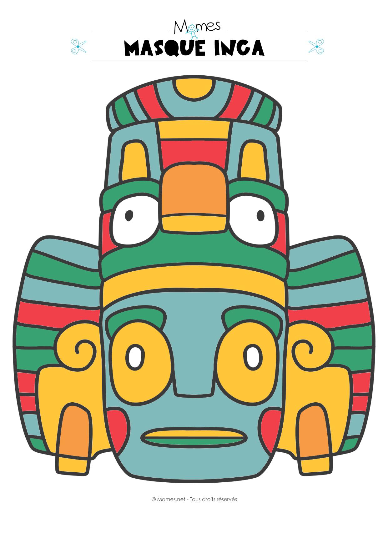 nouveau style et luxe plus grand choix concepteur neuf et d'occasion Masque Inca / Azteque - Momes.net