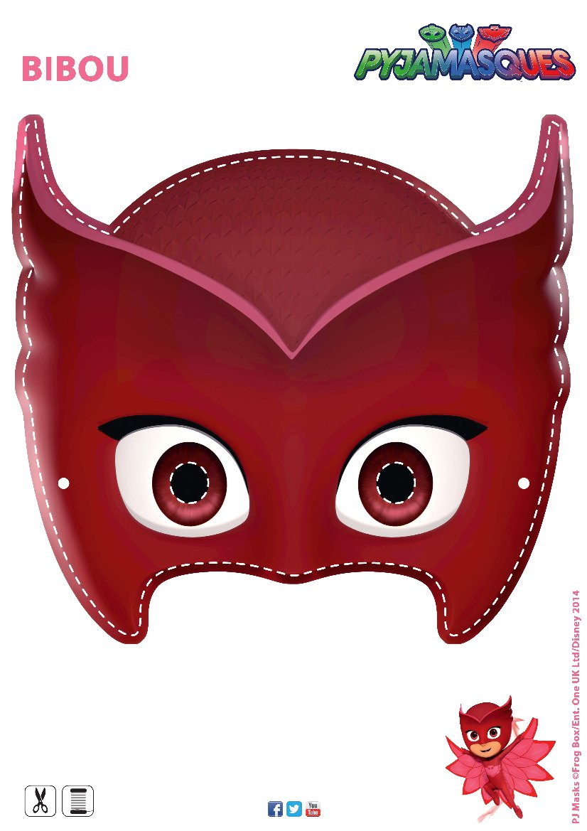 Masque Les Pyjamasques Bibou