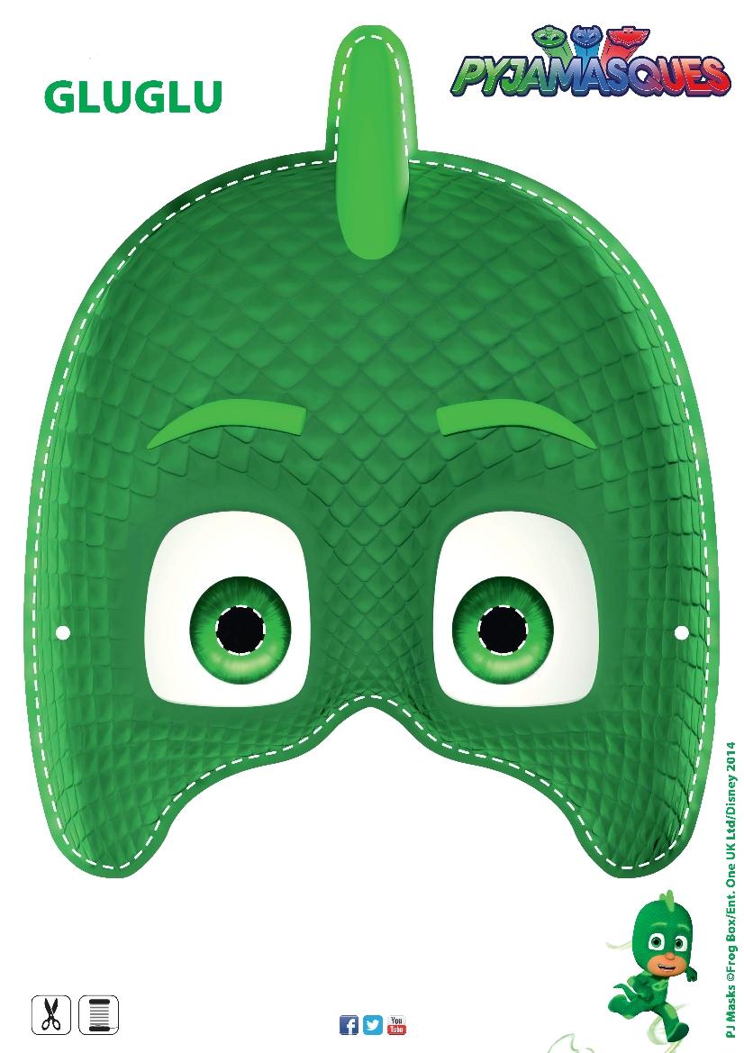 Masque Les Pyjamasques Gluglu Momes Net