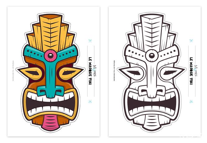 masque tahitien