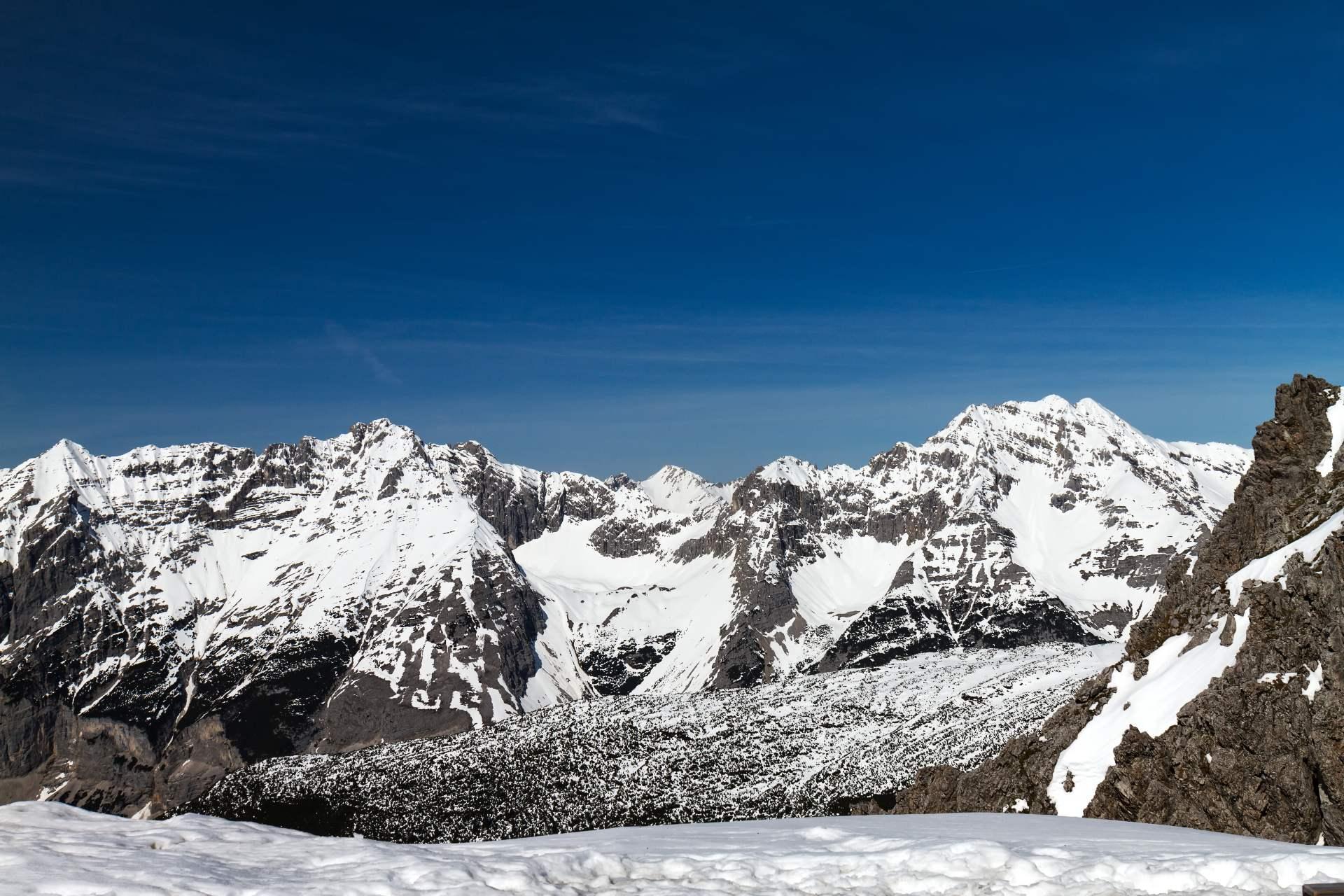 Massif alpin en Autriche