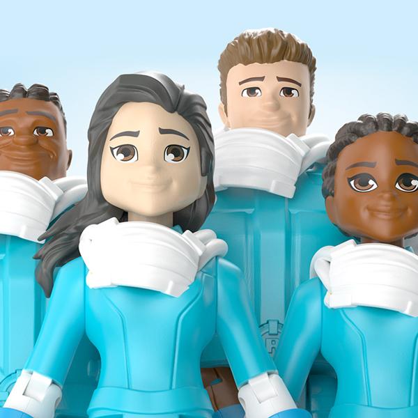 Mattel vient de lancer des figurines en hommage aux héros qui luttent contre le Coronavirus