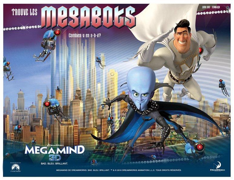 Megamind : cherche et trouve
