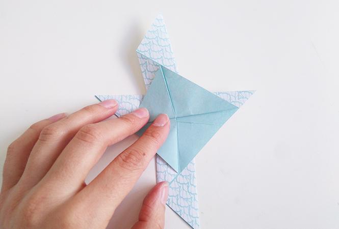 mésange origami