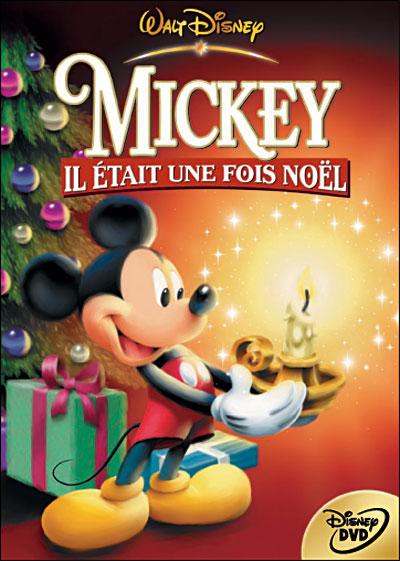 Affiche Mickey il était une fois noël