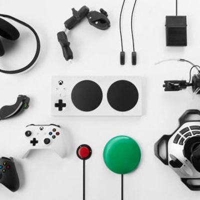 manette xbox handicap microsoft jeux vidéo
