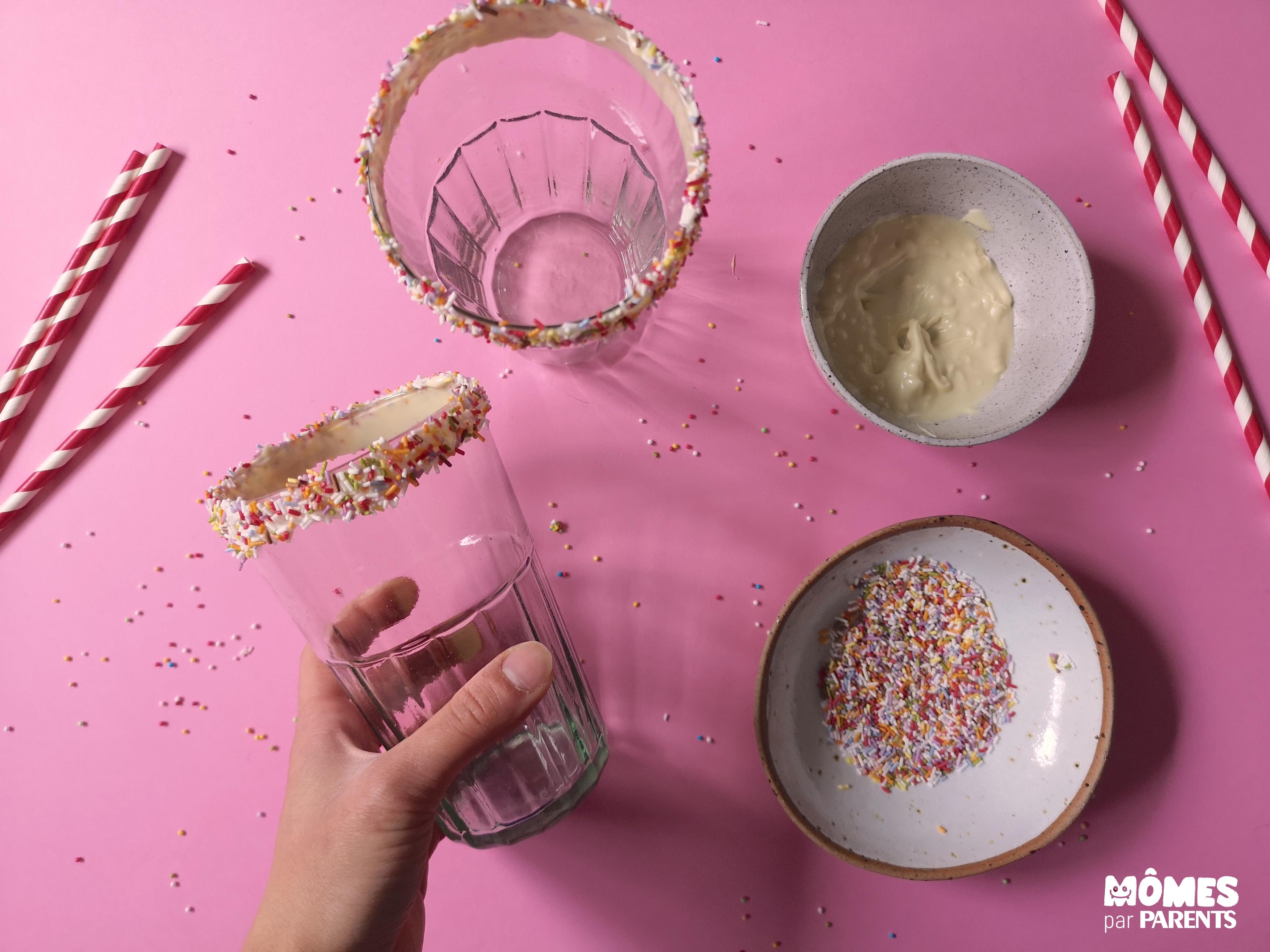 milkshake décor