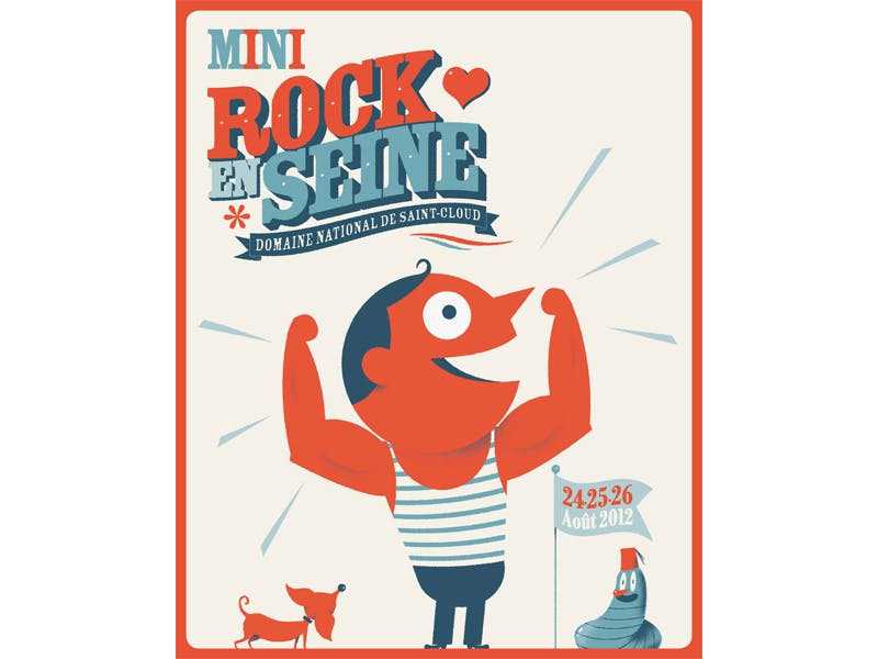 Affiche Mini Rock en Seine