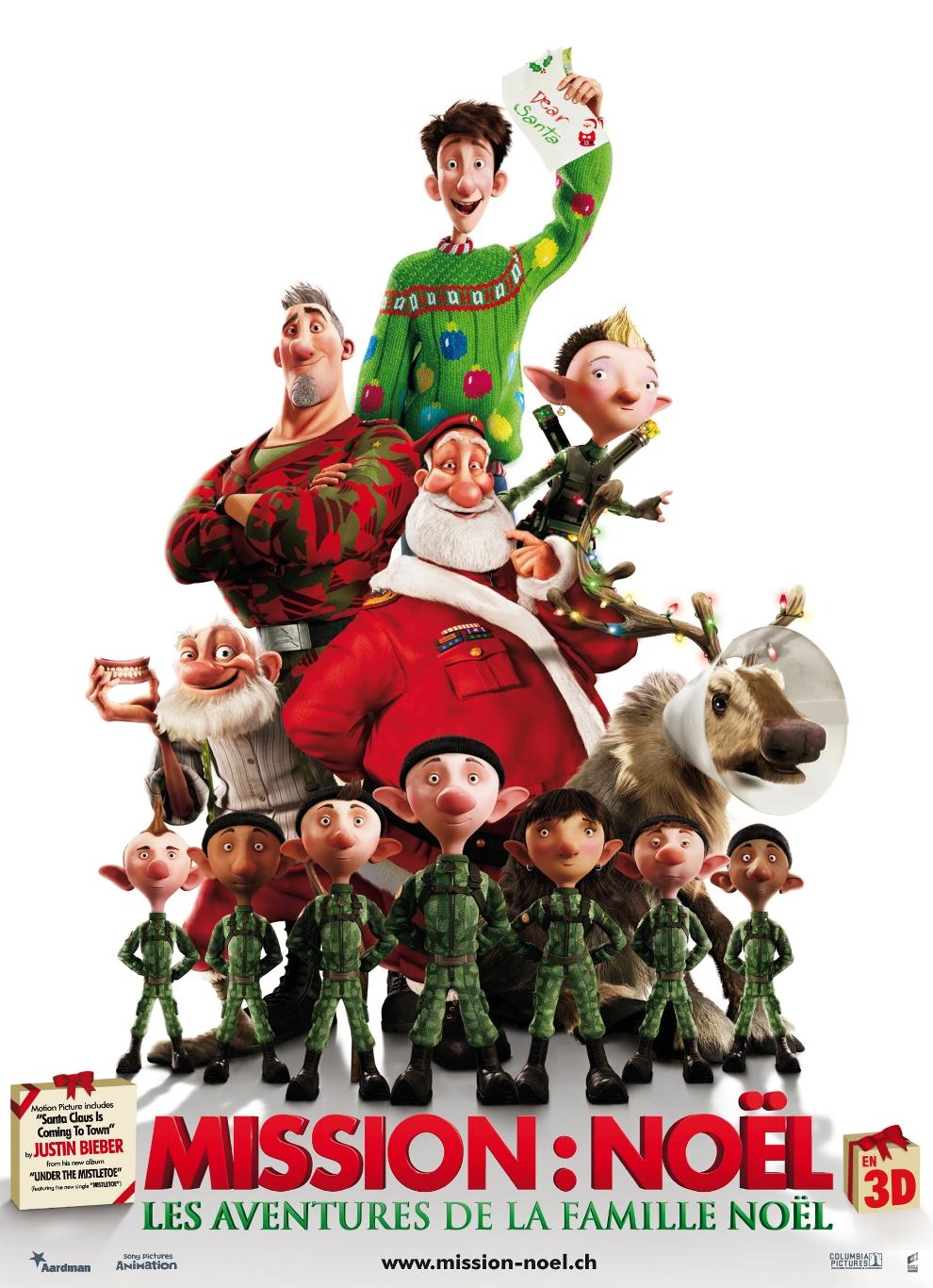 Affiche Mission Noël