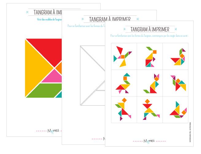 tangram à imprimer