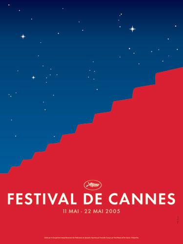 Affiche Festival de Cannes 2005