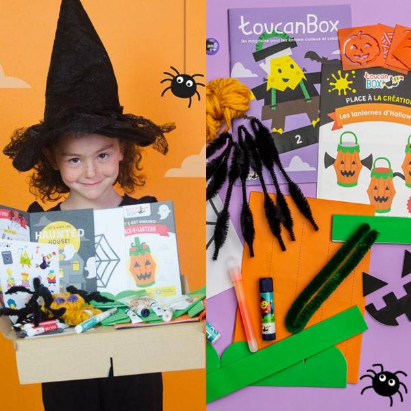 Box créative Parents Momes ToucanBox spéciale Halloween