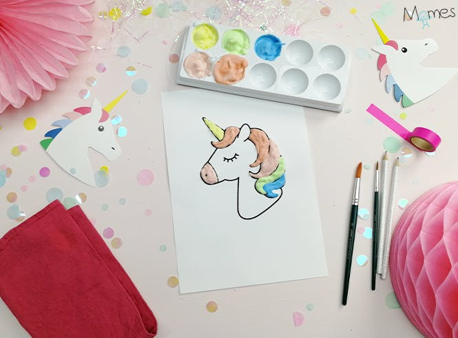 photo finale peinture 3D licorne