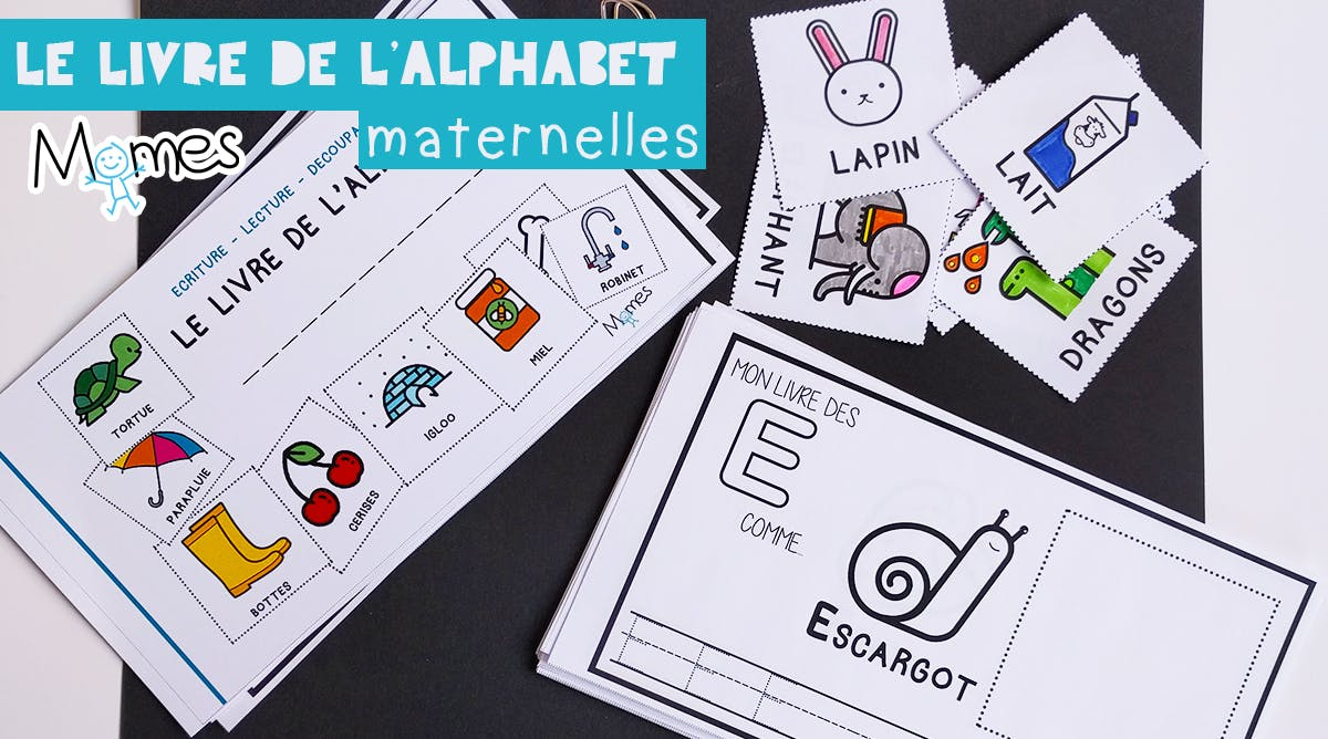 Mon Livre D Alphabet Ecriture Maternelle Momes Net