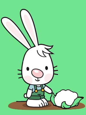 Mon petit lapin s est cach dans le jardin design de - Mon petit lapin s est cache dans le jardin paroles ...