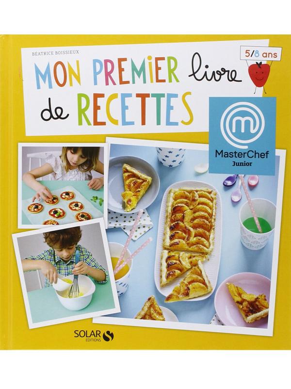 Mon premier livre de recettes