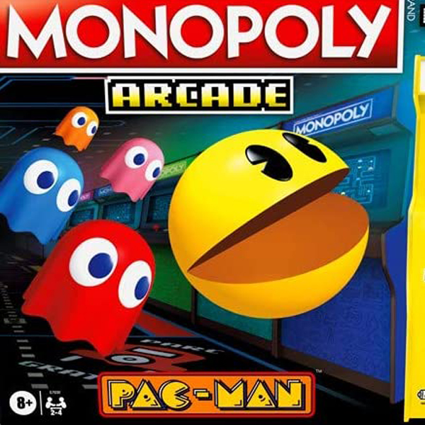 monopoly pac-man 40 ans Hasbro
