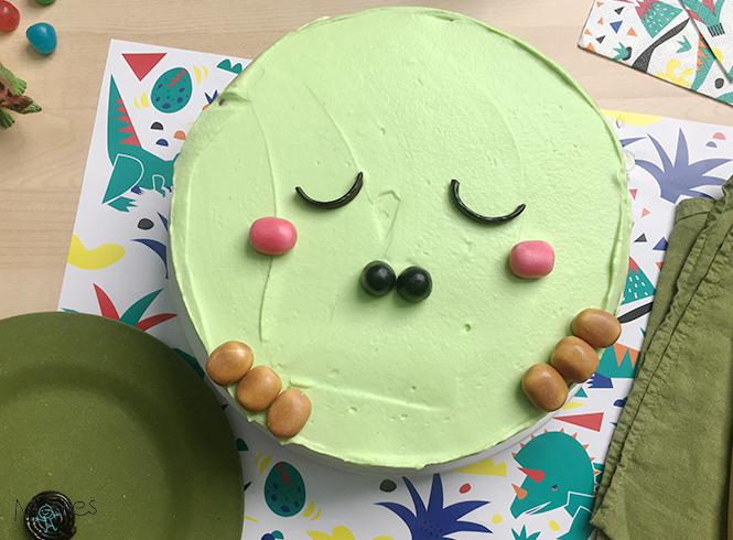 Montage gâteau Dino